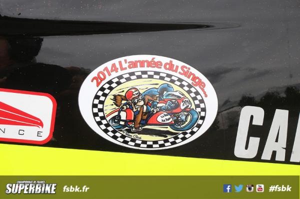 MAGNY-COURS FSBK 2014  4 ème manche du Championnat de France Superbike 28 & 29 Juin 2014 © PHOTOPRESS Tel: 04 93 37 95 96 info@photopress.fr