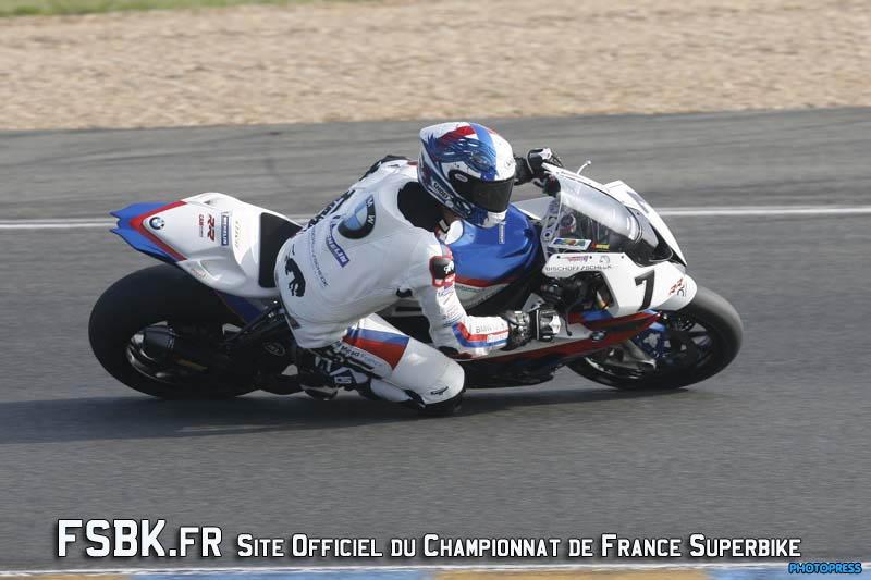 LE  MANS  FSBK  2012 1ere manche du Championnat de France Superbike 31 Mars / 1 Avril 2012 © PHOTOPRESS Tel: 04 93 37 95 96 info@photopress.fr