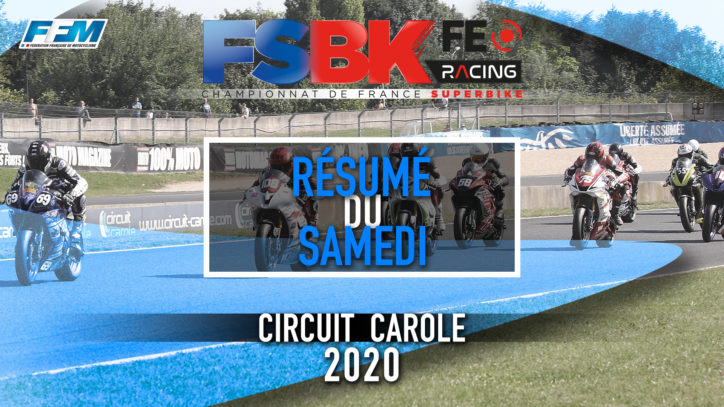 // RESUME DU SAMEDI – CAROLE (93) //