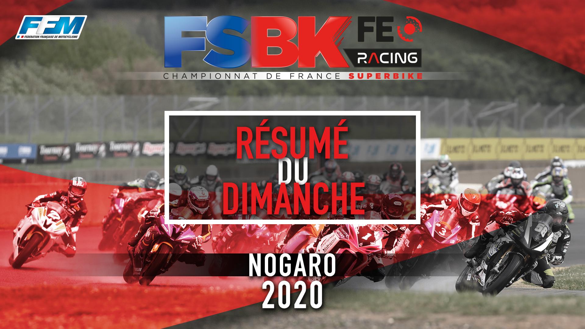 // RESUME DU DIMANCHE – NOGARO (32) //
