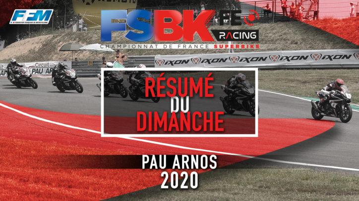 // RESUME DU DIMANCHE – PAU ARNOS (64) //