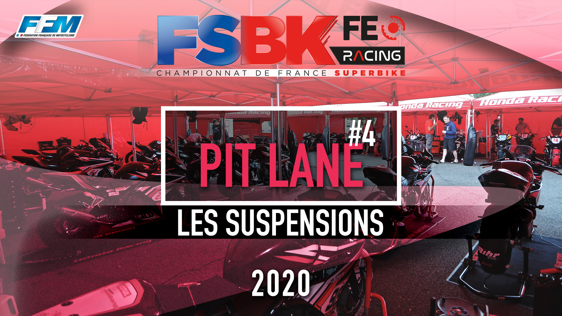 // PIT LANE – LES SUSPENSIONS //