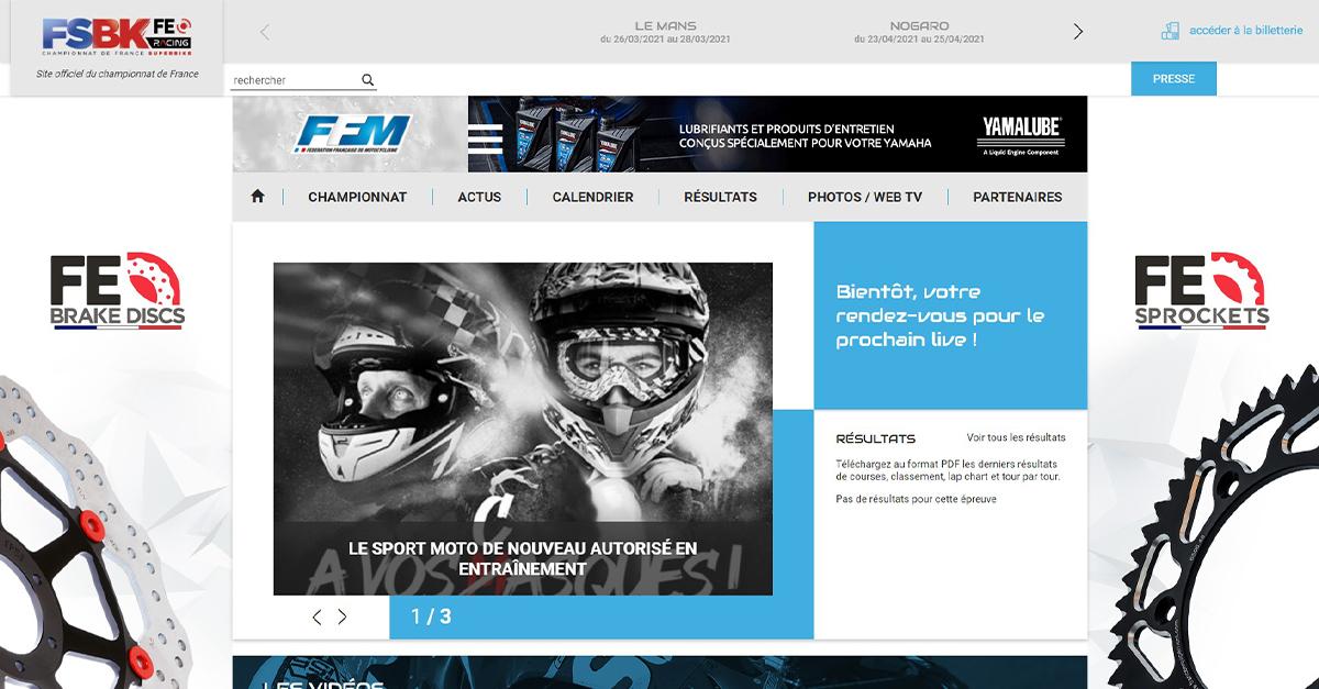 Calendrier Fsbk 2022 Site officiel du Championnat de France de Superbike   FSBK
