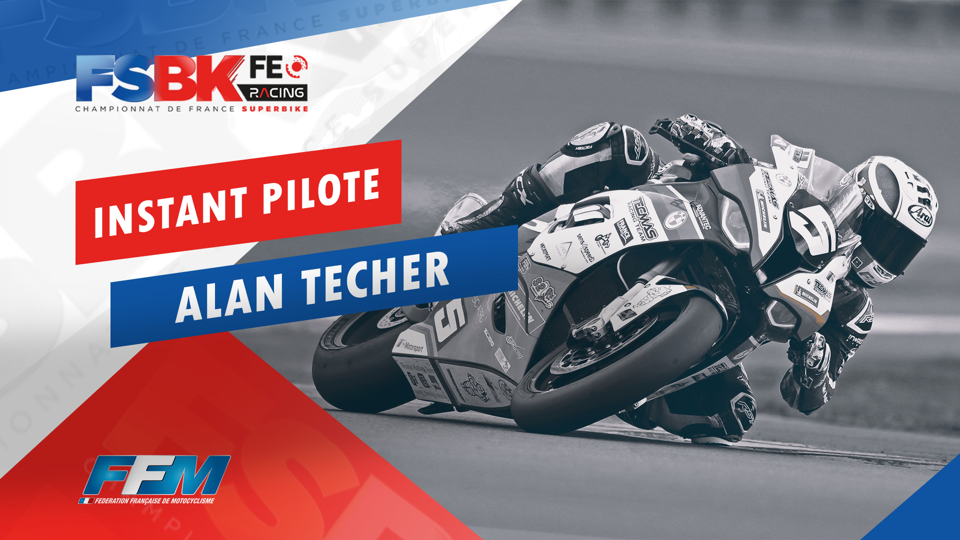 // L' INSTANT PILOTE : ALAN TECHER //